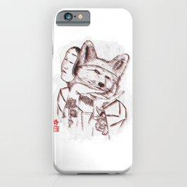 Kitsune Portrait iPhone Case