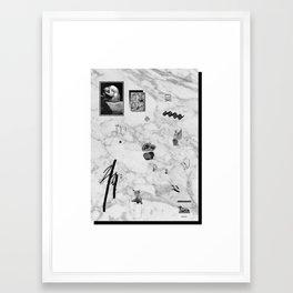 SOIREE GRAPHIQUE #5 Framed Art Print