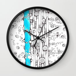 River Rapids Wall Clock