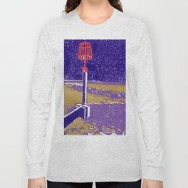 Seaview Fire Beacon in Purple Long Sleeve T-shirt