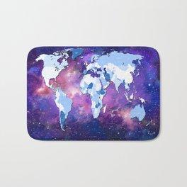 world map political galaxy 2 Bath Mat