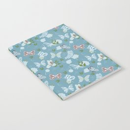 Butterfly Flowers 1 Notebook