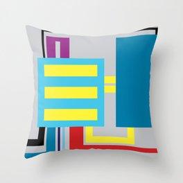 P.H. - Machine Throw Pillow