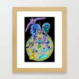 The Edge Cover art Framed Art Print