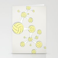 soccer Stationery Cards featuring Soccer DNA by HenryWine