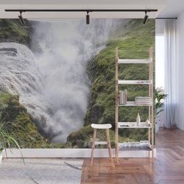 Gullfoss Waterfall Iceland Wall Mural