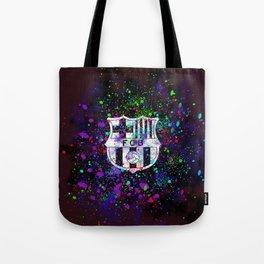 Watercolor Barcelona FC Tote Bag
