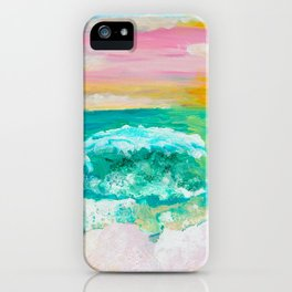 Pink Sand Sunset iPhone Case