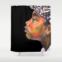 Balinese Boy  Shower Curtain
