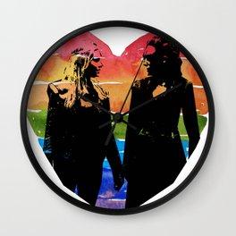 Clexa Silhouette Wall Clock