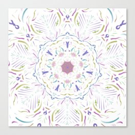 Inner Musings Mandala Canvas Print