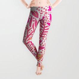 Garden – Pink Palette Leggings