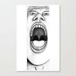 Aah! Canvas Print