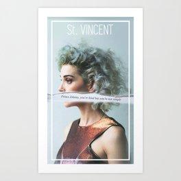 St. Vincent - Annie Clark Art Print