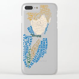 Newt Scamander - quotes Clear iPhone Case