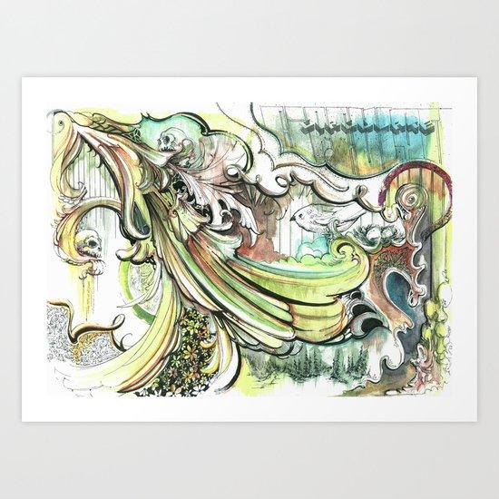 Circulate Art Print
