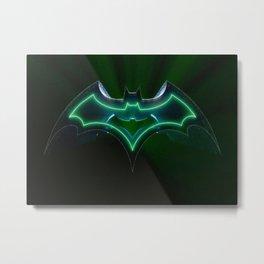 Bat-man 2 Metal Print