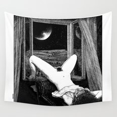asc 558 - Le clair de femmes (Moonstruck) Wall Tapestry