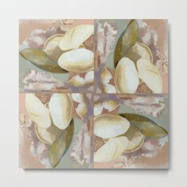 Paul Nash Magnolia Metal Print