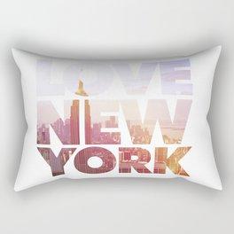 Love New York Rectangular Pillow