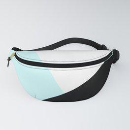 Trichromatic Aqua Blue Fanny Pack