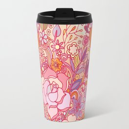 Detailed summer floral pattern Travel Mug