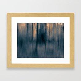 In the forest VIII Framed Art Print