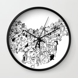 CONFLICTS Wall Clock
