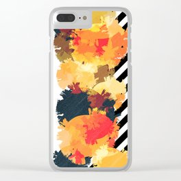 The Fall Patterns #3 Clear iPhone Case