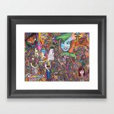 Take A Look Framed Art Print