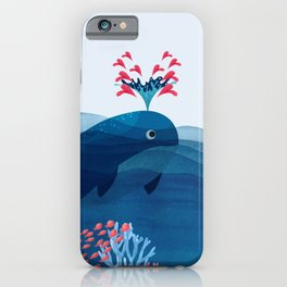 Loving Sea iPhone Case