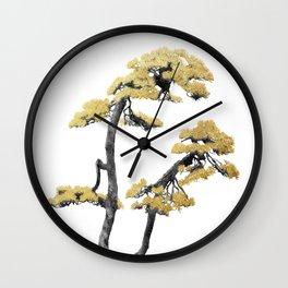 Bonsai Tree VI Wall Clock