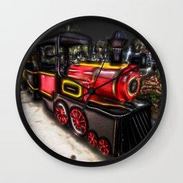 Choo Choo Train Wall Clock