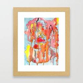 The Lonely Koi Framed Art Print