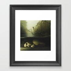 Forever lost Framed Art Print