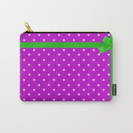 Green bow Carry-All Pouch