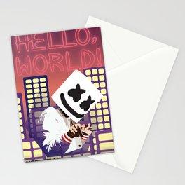 marshmello album 2020 nikn9 Stationery Cards