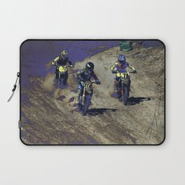 The Home Stretch - Motocross Racers Laptop Sleeve