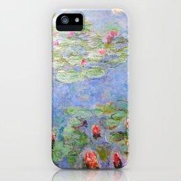 Claude Monet's Water Lilies iPhone Case