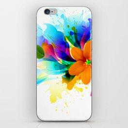 Corazon Floral iPhone Skin
