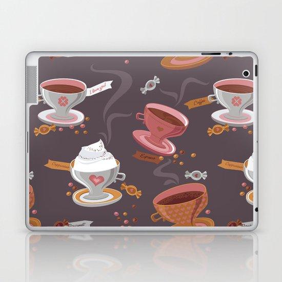 Fresh Coffee Laptop & iPad Skin
