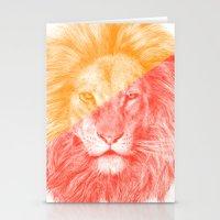 eric fan Stationery Cards featuring Wild 3 by Eric Fan & Garima Dhawan by Garima Dhawan