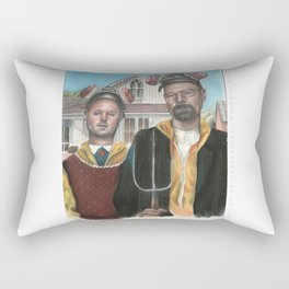 American Gothic is Breaking Bad Rectangular Pillow