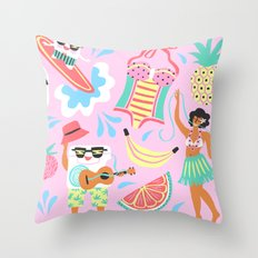 CocoFloss  Throw Pillow