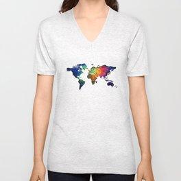 colour map 4 Unisex V-Neck