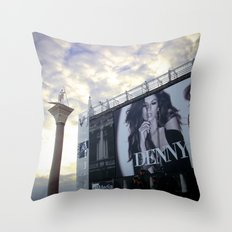 St Mark's Square, Venice Throw Pillow
