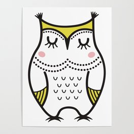 Owly Molly Poster