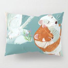 Weasel hugs Pillow Sham