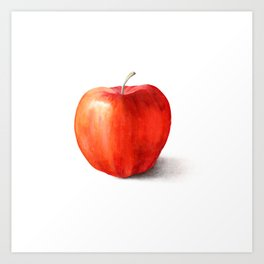 The Apple Art Print