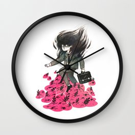 Nature vs Nurture 2 Wall Clock